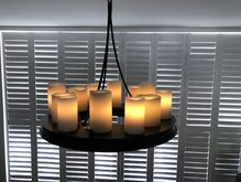 Kaarsenlamp hangend rond idee Kevin Reilly