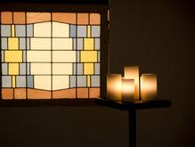 Kaarsenlamp staand idee Kevin Reilly