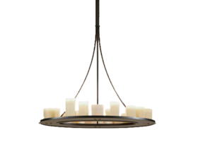 Candle hanglamp rond