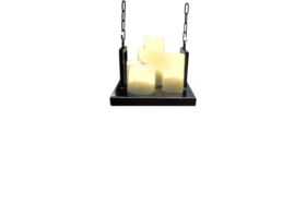 Candle hanglamp vierkant